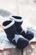 Bonnie Doon Baby Soeckchen Star New Born navy