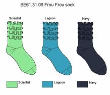 Bonnie Doon Socken Frou Frou in 3 Farben