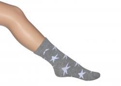 Bonnie Doon Socken A Star is Born grey heather