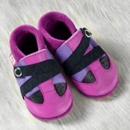 POLOLO Krabbelschuhe und Hausschuhe Viva purpur  lilac