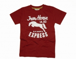 LCKR T Shirt ruby Iron Horse