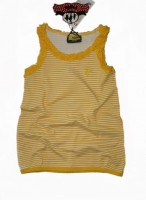 Paglie Long Tank Top stripes gelb