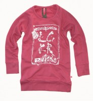 LCKR Long Sweatshirt Flower rose