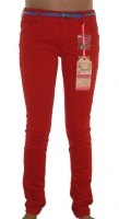 Vingino Jeans Stretch Hose NIKITA red + Guertel