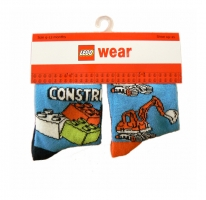 LEGO Wear 2er Pack Socken CONSTRUCTION ali 301