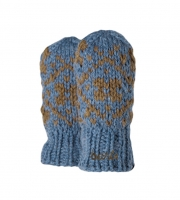 Barts Faeustlinge Handschuhe Mitts  WILLOW old blue