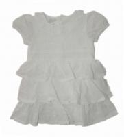 Stummer Festliches Baby Kleid Elegance weiss