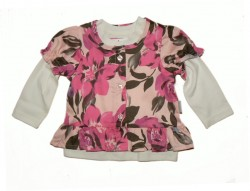 Stummer 2 Tlg  Shirt + Bluse Baby Girl