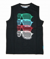 LCKR Tank Top ENJOY raven
