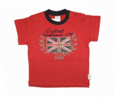 Stummer T Shirt Oxford Establishment red