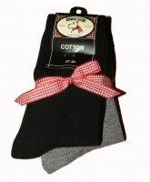 Bonnie Doon 2er Pack Socken black