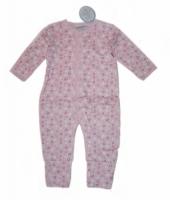 Feetje Schlafoverall rosa Bluemchen