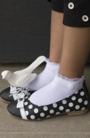 Bonnie Doon Sneaker Romantic Touch Short Sock white