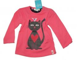 Feetje Langarmshirt cat rosa