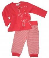 Feetje Kombi Shirt + Hose Baby Bear kirsch
