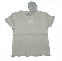 Feetje Basic Baby Shirt weiss