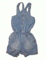 Feetje Jeans Jumpsuit Flower Power blue light