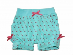 Feetje Baby Schorts Garden Party  allover aqua