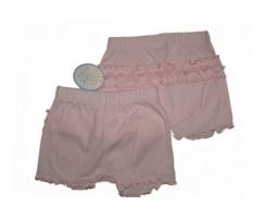 Feetje Hoeschen mit Rueschchen Exquisite  rosa