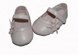 Feetje Babyshuhe Ballerina Bluemchen rosa