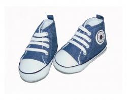 Feetje Babyschuhe Chucks Jeans blue