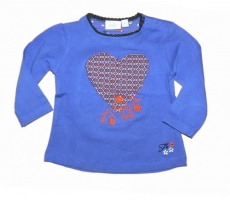 Feetje Langarmshirt Ny Girl royal Blue