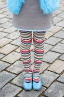Bonnie Doon Strumpfhose Sparkling Stripe black