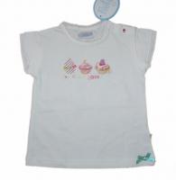 Feetje T Shirt Cupcake weiss