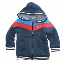 Feetje Sweatjacke m  Tedyfutter STAR DOG  antraciet