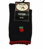 Bonnie Doon Socken 3 D Rose navy