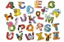 Legler Buchstaben Tiere aus Holz  A B C