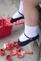 Bonnie Doon Baby Socken Ballerina Rose navy