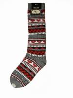 Bonnie Doon Kniestrtruempfe Knee High Laponian med  grey heather