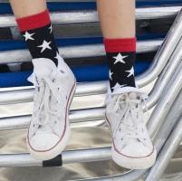 Bonnie Doon Socken Star System black