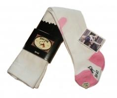 Bonnie Doon Baby Strumpfhose Sweetheart white pink
