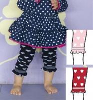 Bonnie Doon Legging Baby Candy Heart in 2 Farben