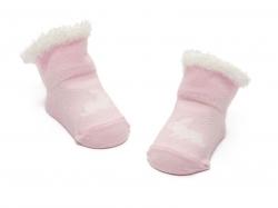 Bonnie Doon Baby Soeckchen Rabbit New Born pink panther