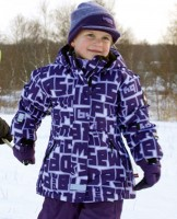Lego Wear TEC Ski  oder Winterjacke JOY 611 aubergin