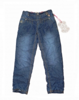 Pezzo Doro Thermo Jeans Chinohose blue denim
