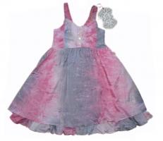 Pezzo Doro festliches Kleid rose