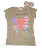 Vingino T Shirt JANELL grey melee