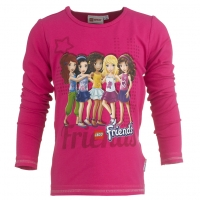 Lego Wear Friends LA Shirt TABITA 606 cherise