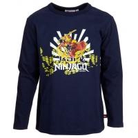 Lego Wear Ninjago LA Shirt TERRY 609 midnight blu