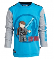Lego Wear STAR WARS LA Shirt TERRY 657 oceanblue