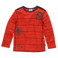 Lego Wear NINJAGO LA Shirt TOM 602 red