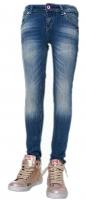 Vingino Jeans AMELIA Slimfit blue denim