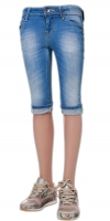 Vingino Capri Jeans FEMKE blue denim