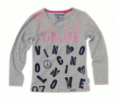 Vingino Shirt JAQUINN grey mele